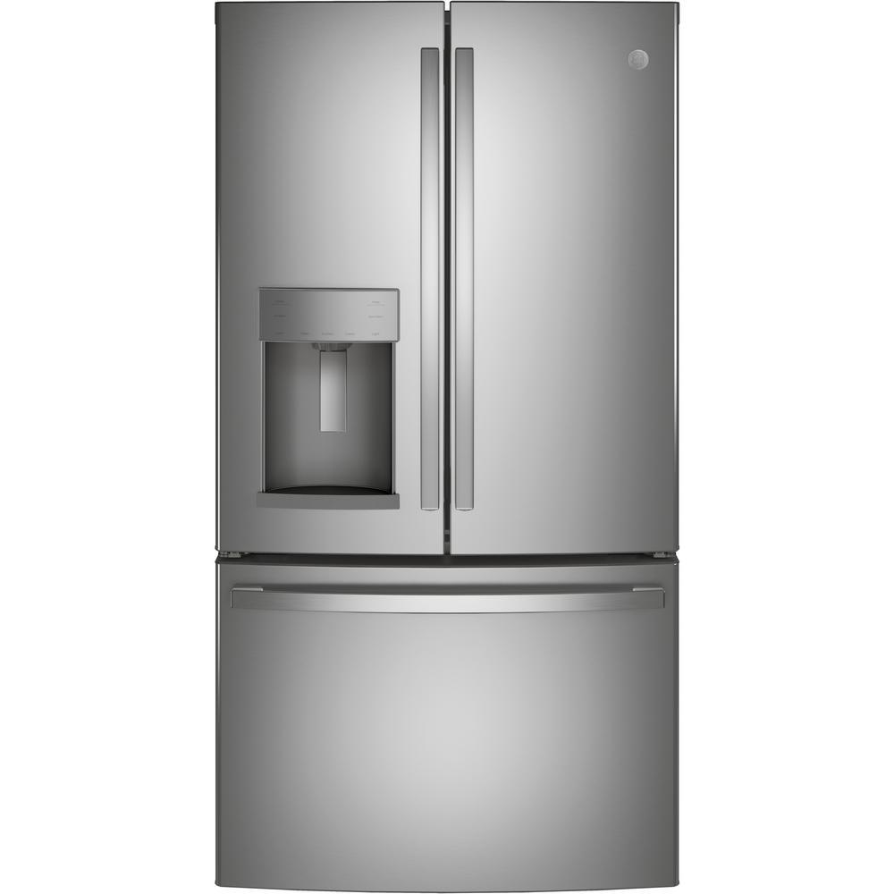 GE 27.7 cu. ft. French Door Refrigerator in Fingerprint Resistant Stainless Steel, ENERGY STAR