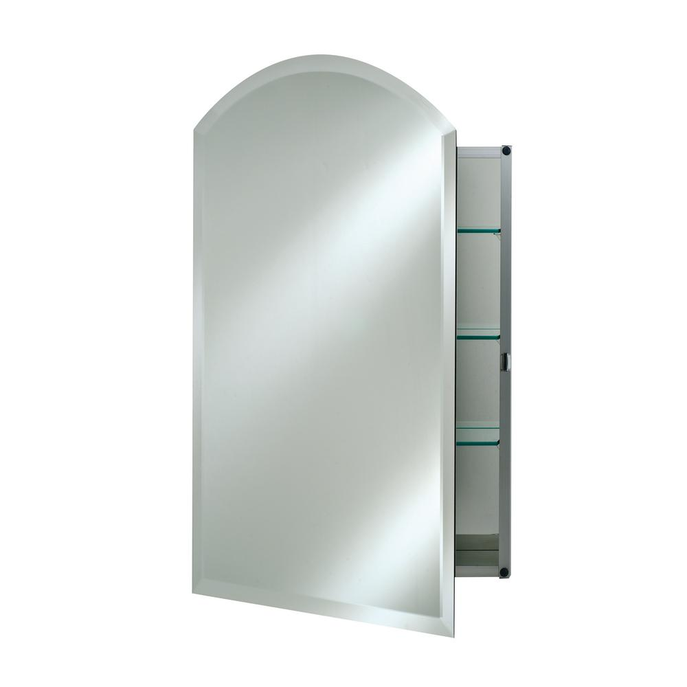 Croydex 15 In W X 26 In H Recessed Or Surface Mount