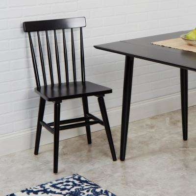 Connor Black Dining Chairs (Set of 2 )