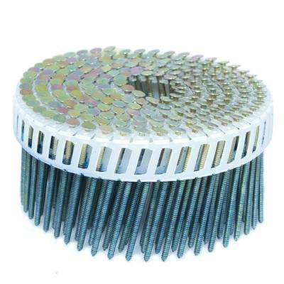 2.25 in. x 0.092 in. 15-Degree Ring Galvanized Plastic Sheet Coil Siding Nail 3,200 per Box