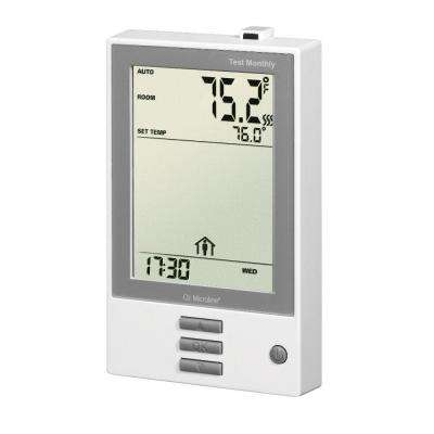 7 Day Intuitive Programmable Thermostat with Floor Sensor for 120 or 240-Volt Floor Heating Systems