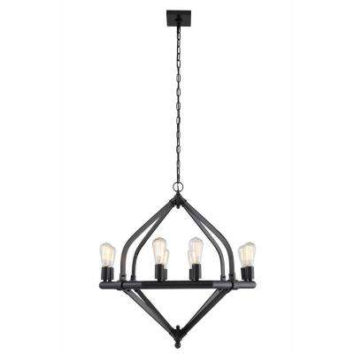 Illumina 8-Light Bronze Pendant Lamp