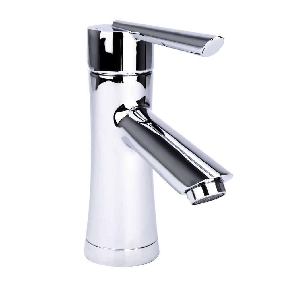 Fontaine Hour Glass Single Hole Single Handle Bathroom Faucet In