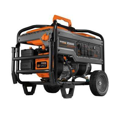 XC 6500-Watt Gasoline Powered Portable Generator, CARB Compliant