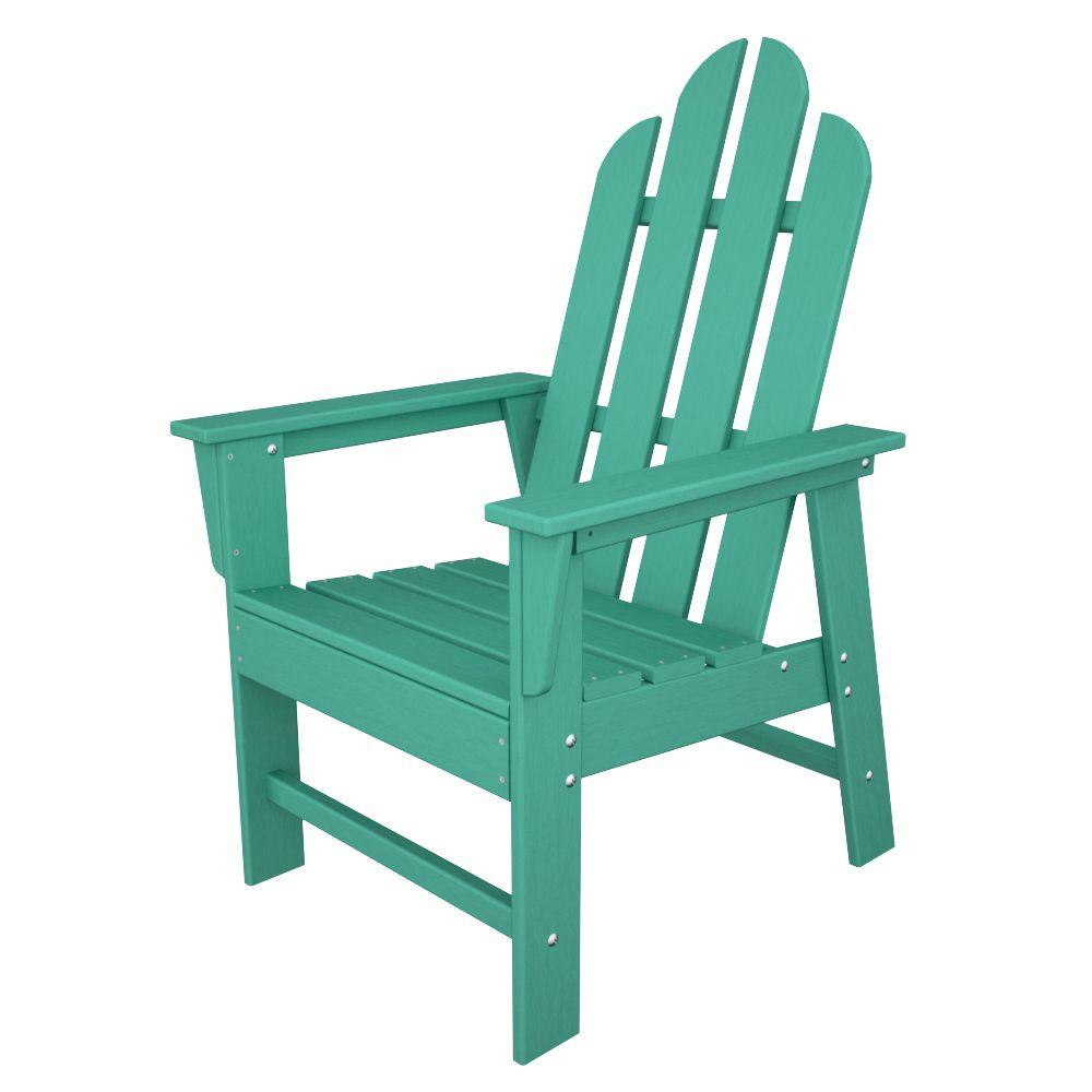 Long Island Aruba All-Weather Plastic Outdoor Dining Chair