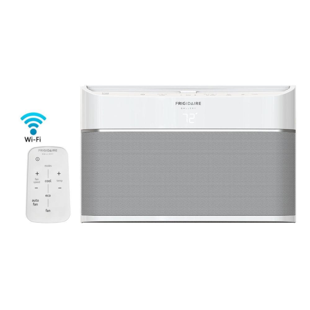 12,000 BTU 115-Volt Smart Window Air Conditioner, Wi-Fi Enabled