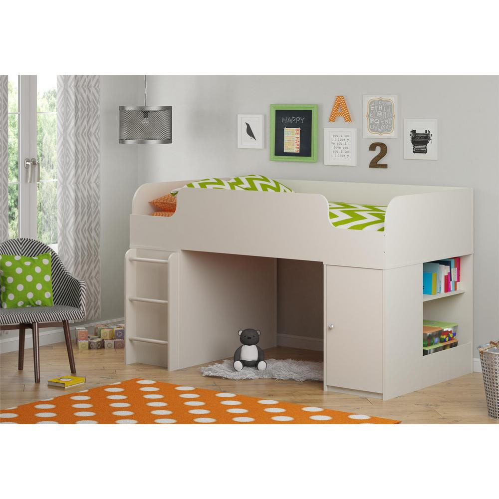Cosco Elements White Toy Box Kids Bookcase - Cosco Elements White Toy Box Kids Bookcase-5851015PCOM - The Home