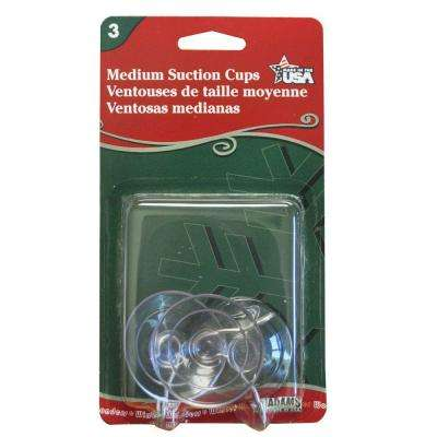 1-3/4 in. Adam's Medium Suction Cups (4-Set) Total (12-Count)
