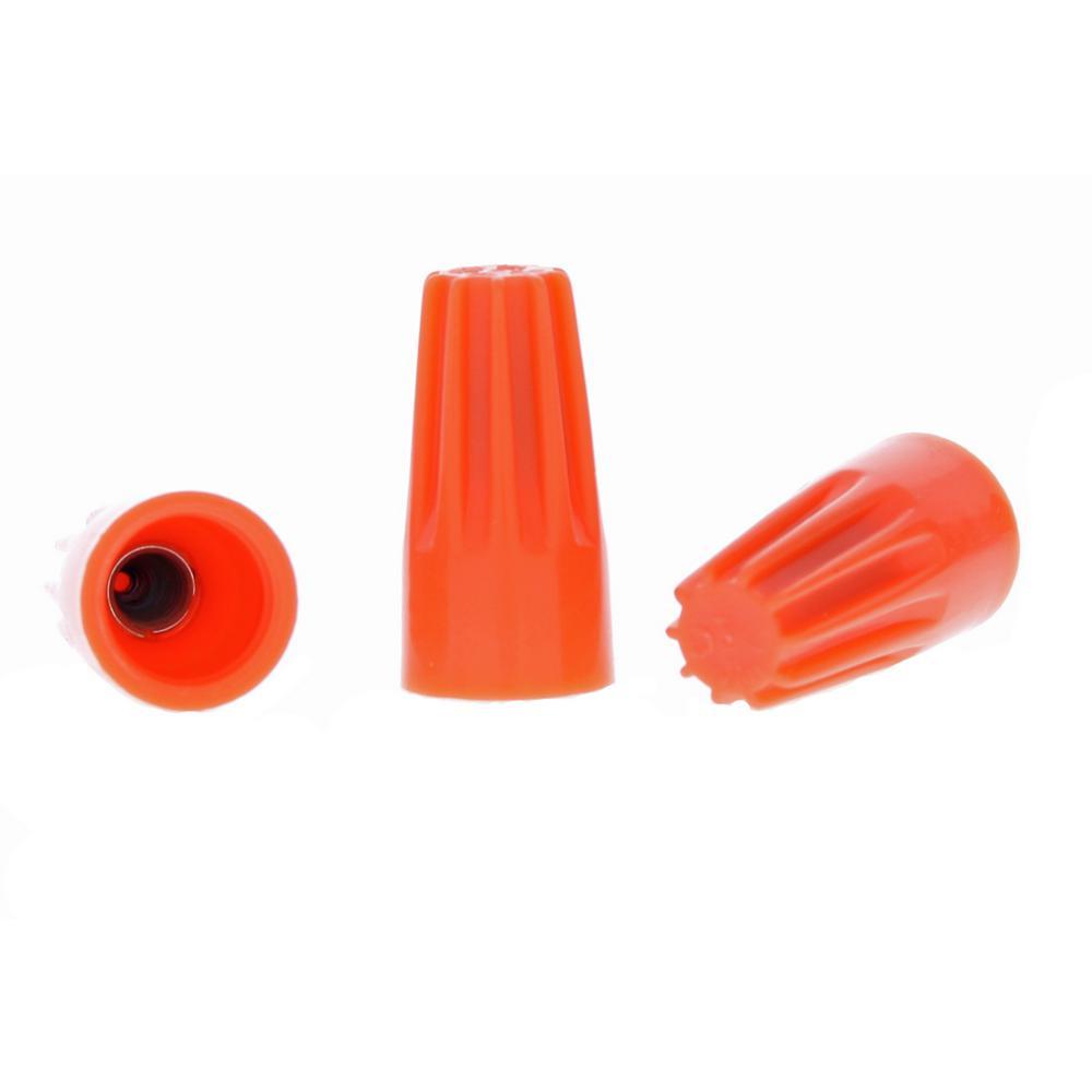 73B Orange WIRE-NUT Wire Connectors (100-Pack)