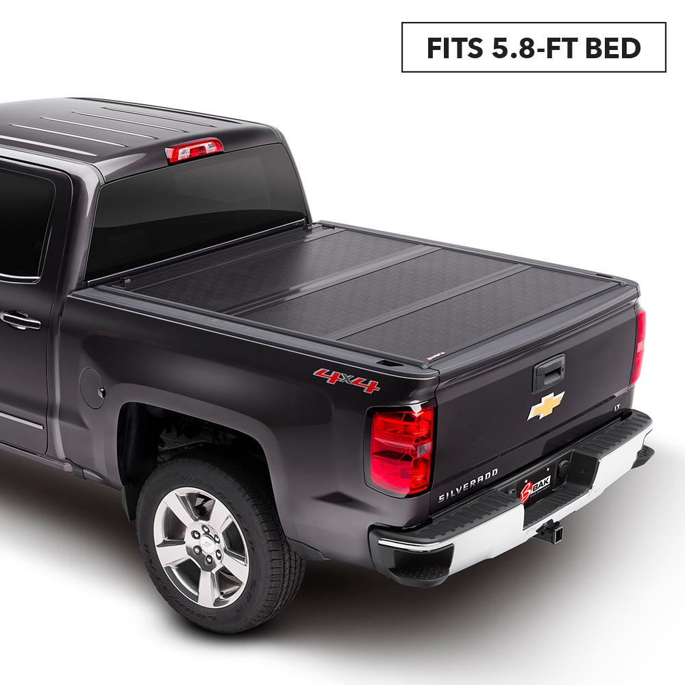 Bak Industries G2 Tonneau Cover For 19 New Body Style Silv Sierra 5 Ft 9 In Bed 226130 The Home Depot