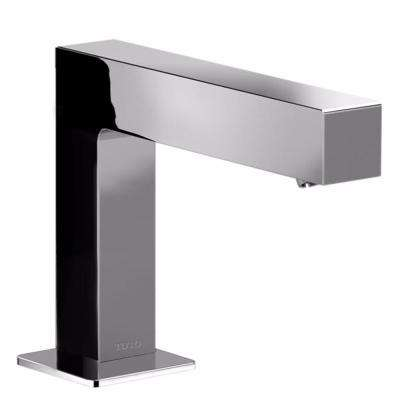 Axiom EcoPower On-Demand 0.5 GPM Touchless Single Hole Bathroom Faucet with Mixing Valve in Polished Chrome