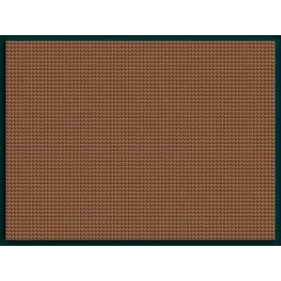 WaterGuard Dark Brown Snow Mobile 35.25 in. x 46.5 in. Landing Pad