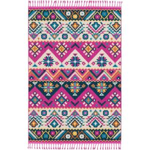 Artistic Weavers Martela Bright Pink 7 ft. 10 inch x 10 ft. Area Rug by Artistic Weavers