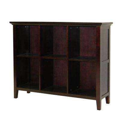 Ferndale Espresso 6-Shelf Display/Bookcase