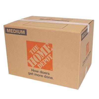 22 in. L x 16 in. W x 15 in. D Medium Moving Box