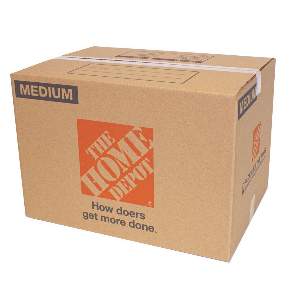 22 in. L x 16 in. W x 15 in. D Medium Moving Box (25 Pack)