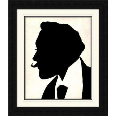 """28 1/4 in. x 24 1/4 in. """"The Curious Man"""" Framed Wall Art"""