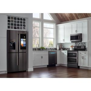 9 samsung flex duo 58 cu ft slidein double oven electric range with