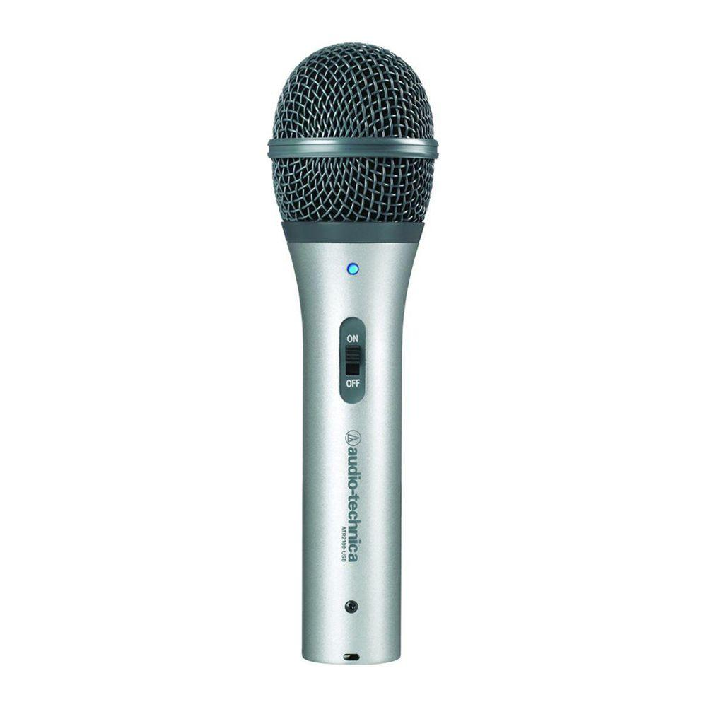 Audio-Technica Cardioid Dynamic USB/XLR Microphone