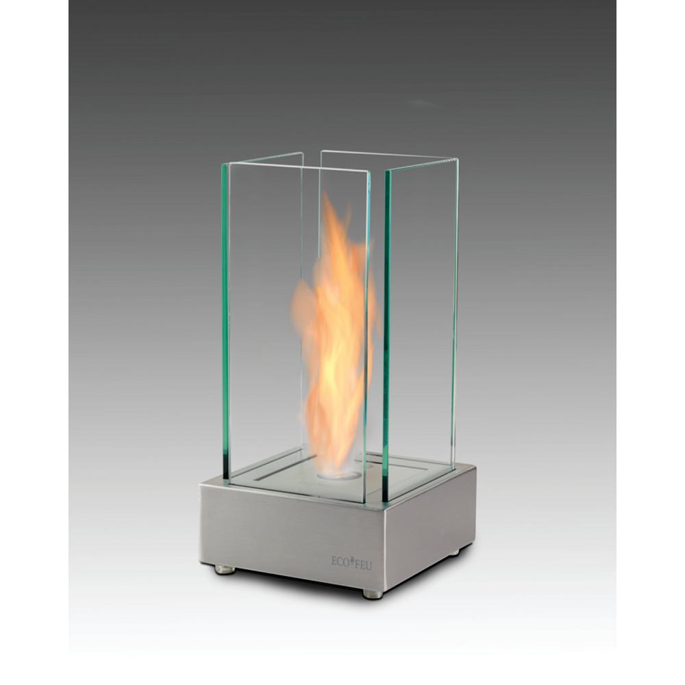 Cartier 7 In Ethanol Tabletop Fireplace In Matte Black Tt 00106 Mb