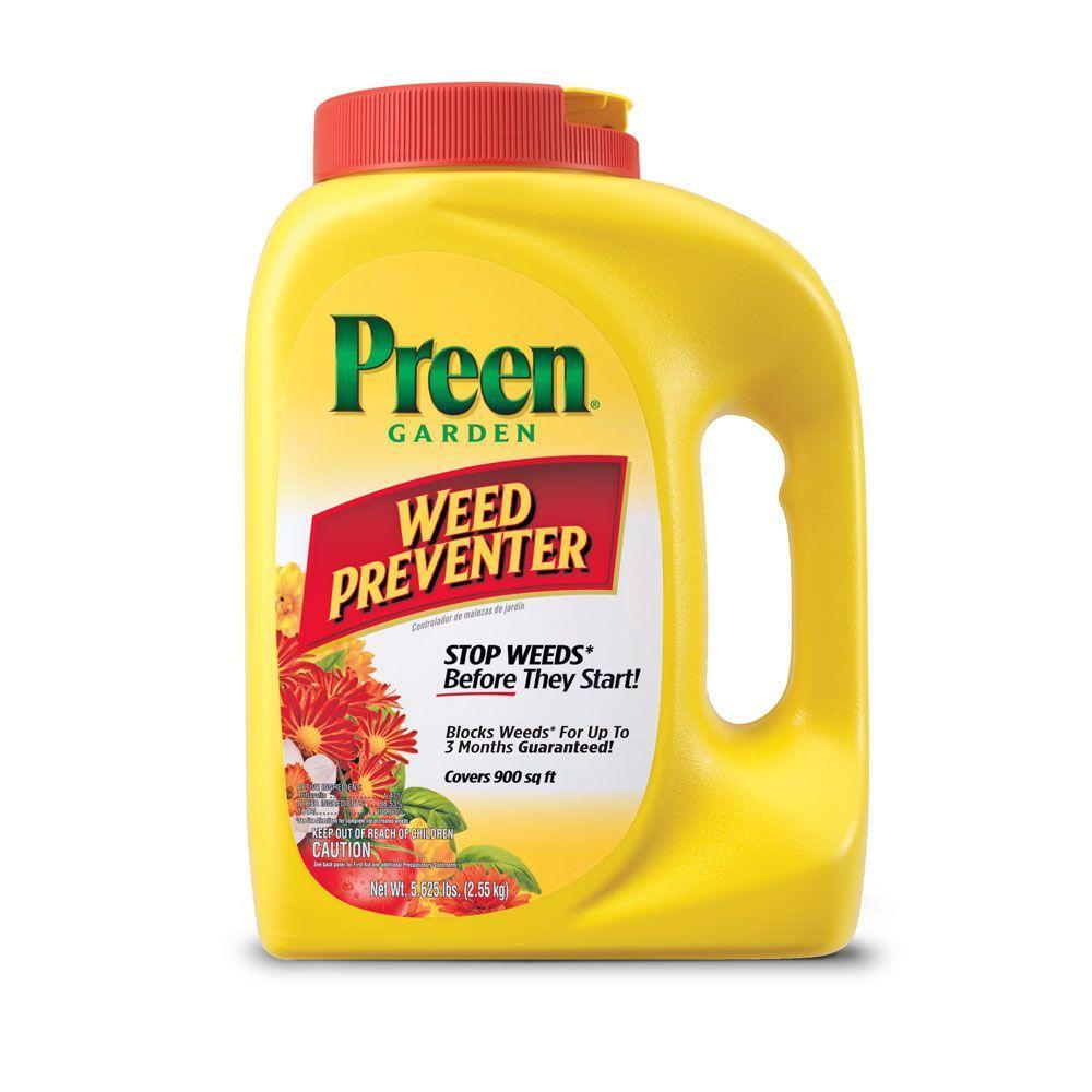 Preen Lbs Garden Weed Preventer 2463795 The Home Depot