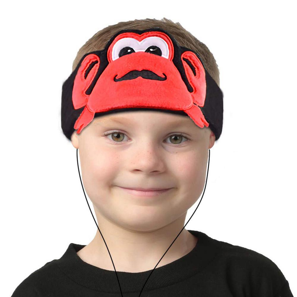 Kids Headphones Volume Limiter Machine Washable Fleece Headphones for Children Travel or Home w/ Adjustable Band (Crab) Kids Headphones Volume Limiter Machine Washable Fleece Headphones for Children Travel or Home w/ Adjustable Band (Crab)