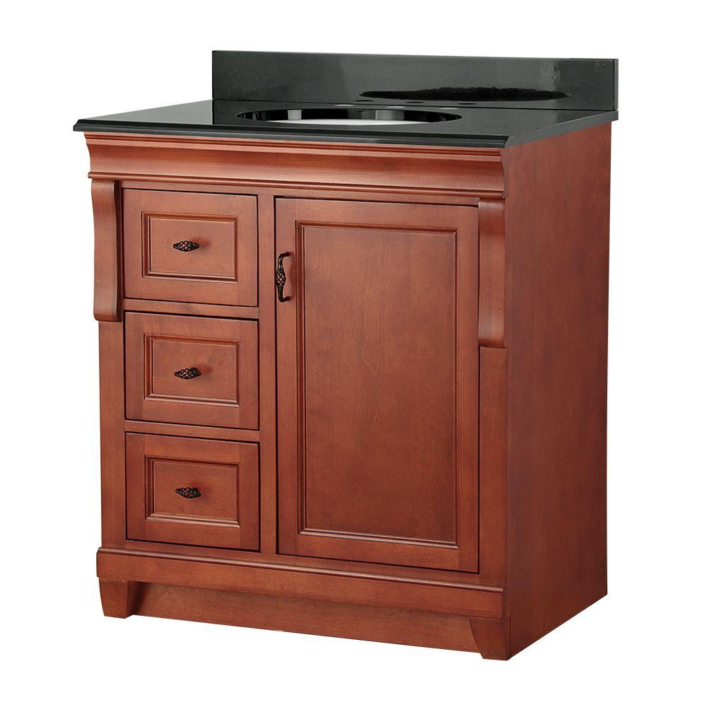 Foremost naples 31 in w x 22 in d vanity in warm for Foremost home