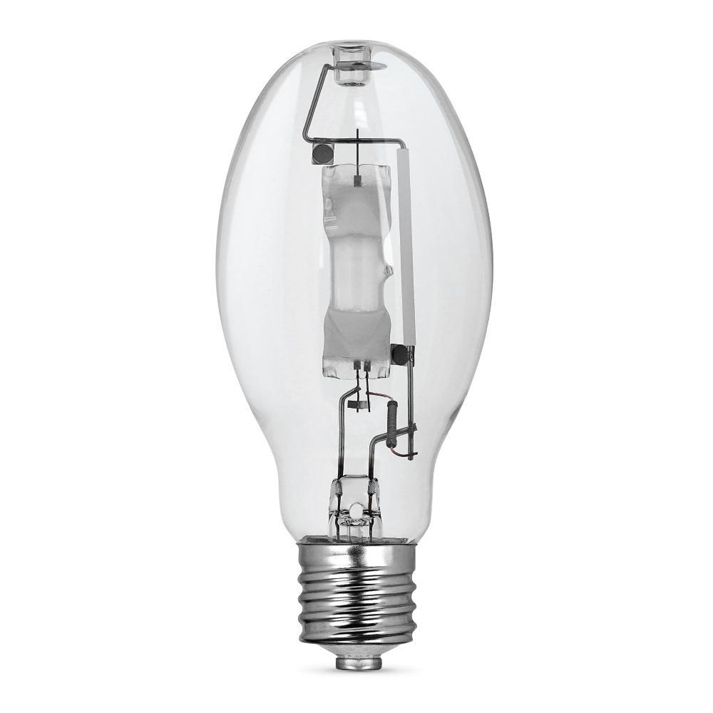 250-Watt ED28 Shape Clear Metal Halide High Intensity Discharge E39 Mogul Base HID Light Bulb (1-Bulb)