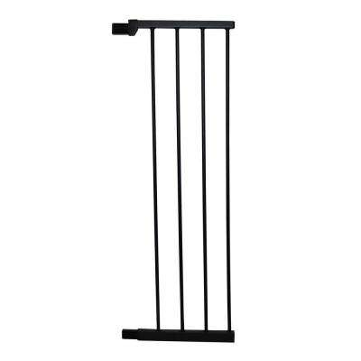 36 in. H x 11 in. W x 1 in. D, Black Large Extension for Extra Tall Premium Pressure Gate