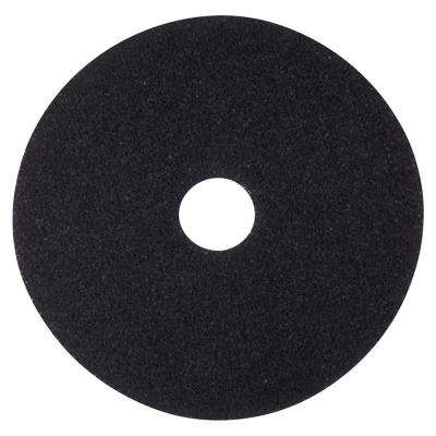 20 in. Black Stripping Pads (5 Per Carton)