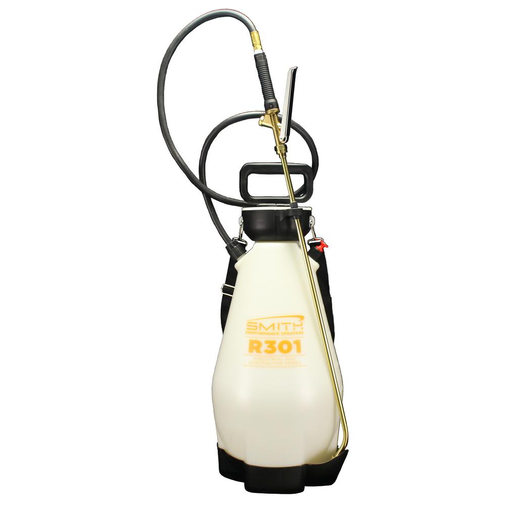 Smith Performance Sprayers 3 Gal Industrial And Contractor Poly Concrete Compression Sprayer 190451 The Home Depot