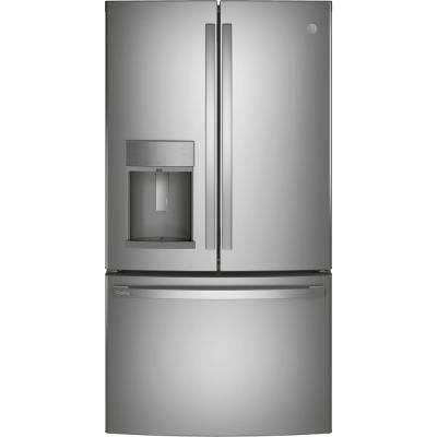 Profile 22.1 cu. ft. French Door Refrigerator with Door-in-Door in Fingerprint Resistant Stainless Steel, Counter Depth