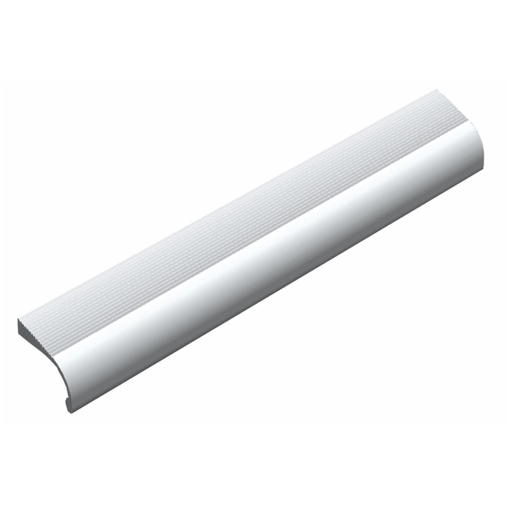 Center To Satin Aluminum Cabinet Hardware Pull