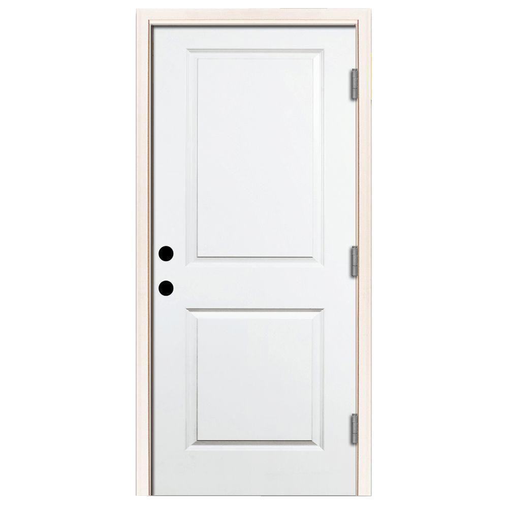 Fresh Black Steel Entry Door