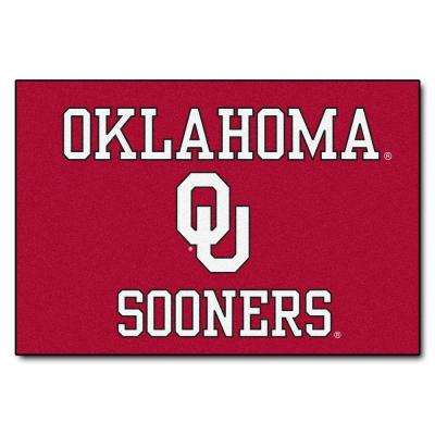 University of Oklahoma 19 in. x 30 in. Accent Rug