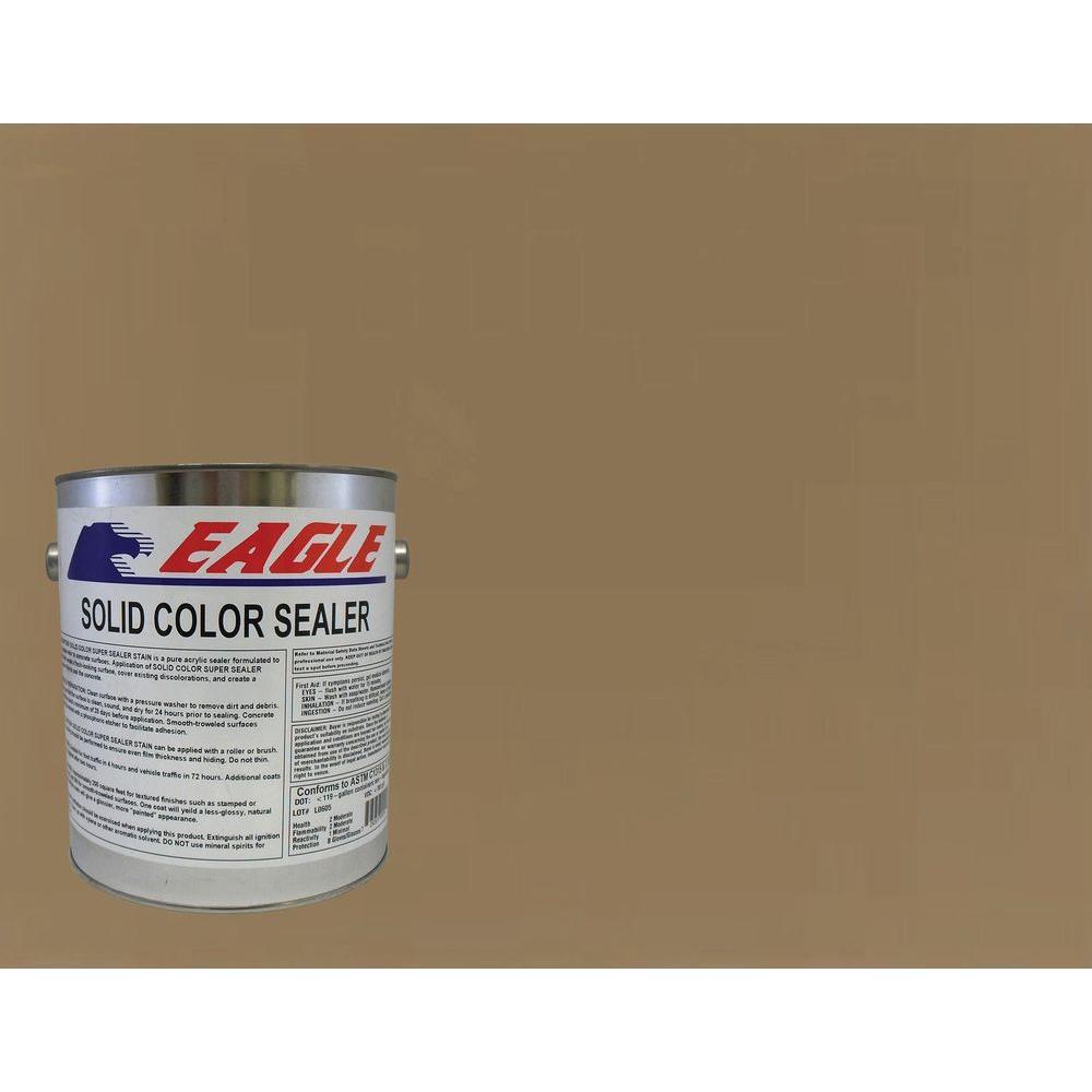 1 gal. Sandstone Solid Color Solvent Based Concrete Sealer