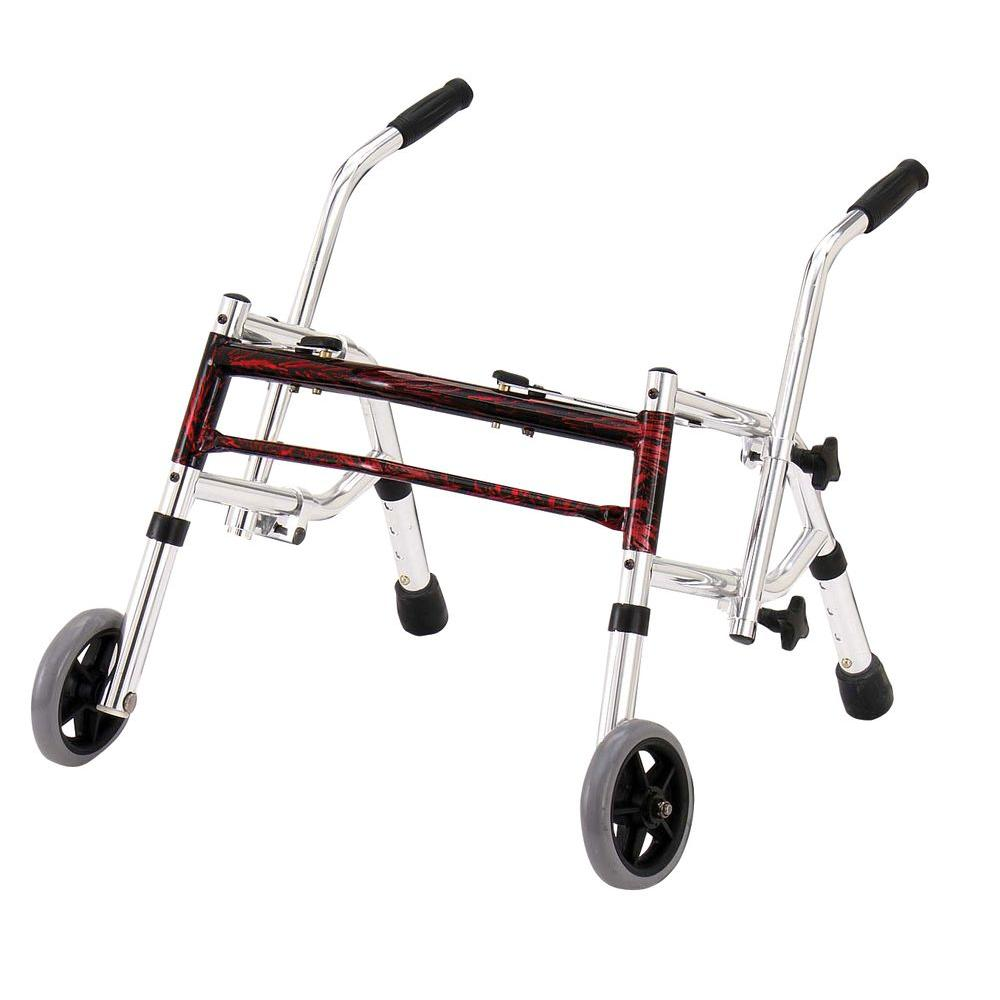 Glider Walker - Pediatric in Flame Red