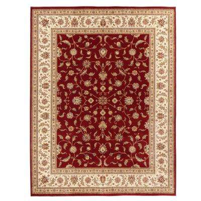 Maggie Red 8 ft. x 10 ft. Area Rug