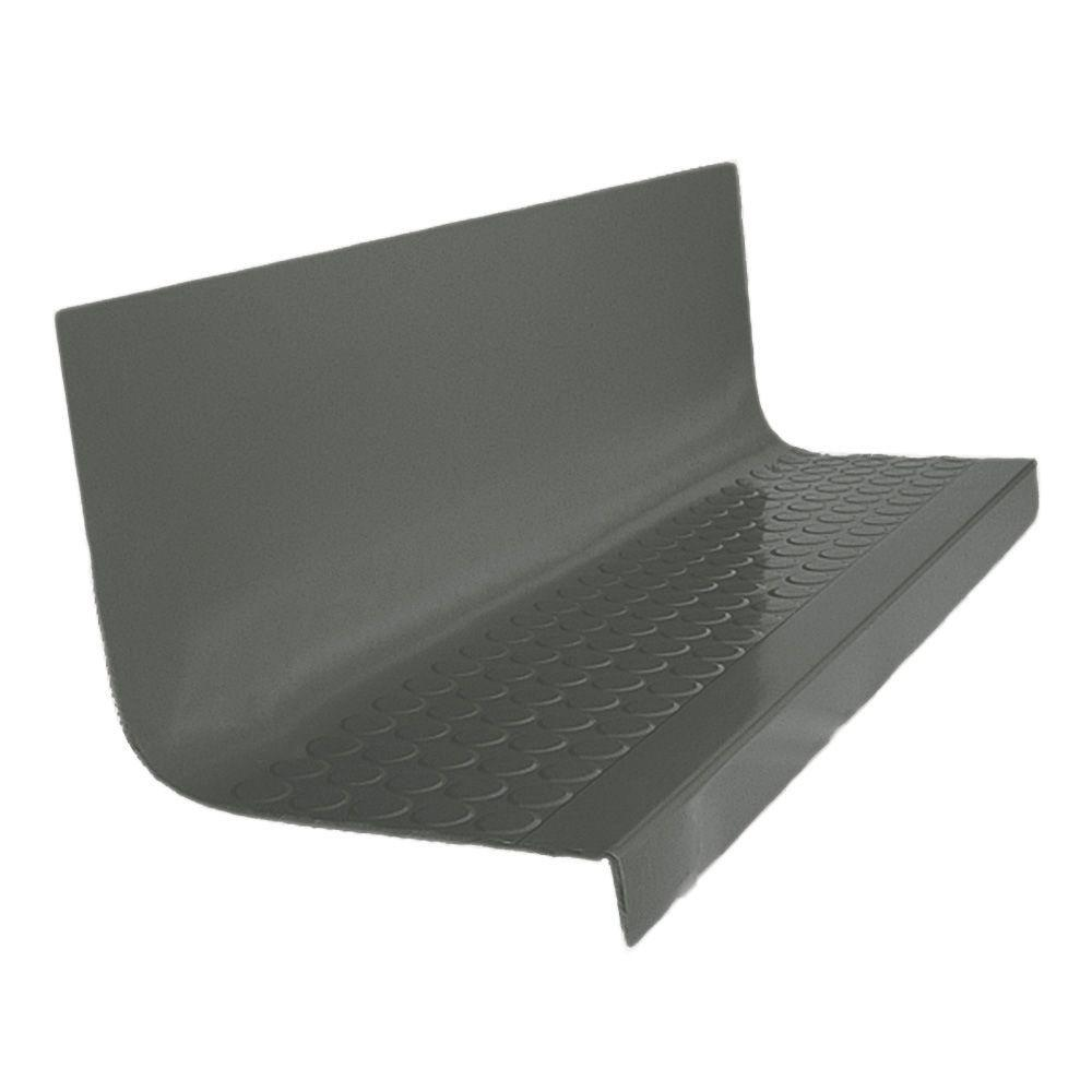 Roppe Vantage Circular Profile Charcoal 20 4 In X 48 In