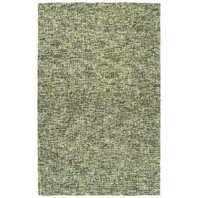 Lucero Green 9 ft. 6 in. x 13 ft. Area Rug