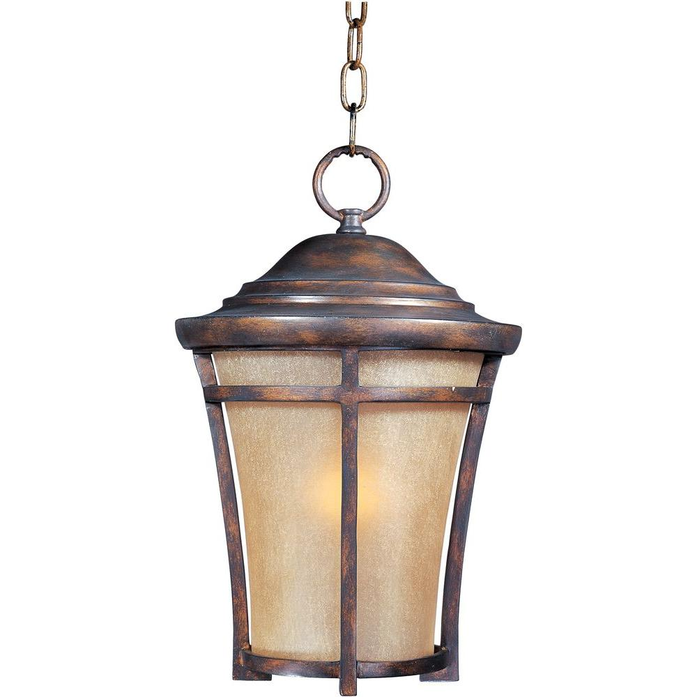 Balboa Vivex 1-Light Copper Oxide Outdoor Hanging Lantern