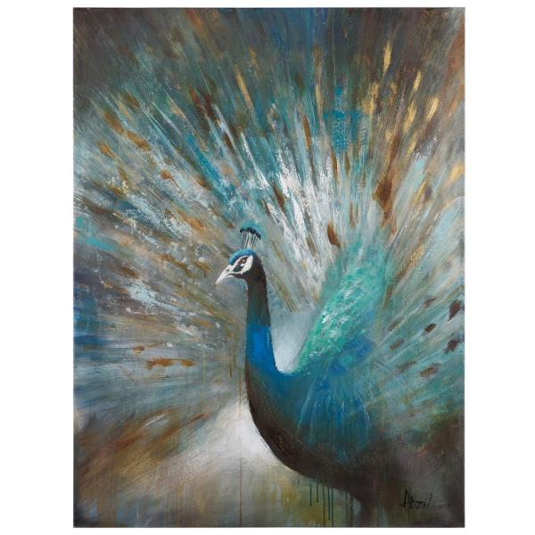 Peacock Prowess. Yosemite Home Decor