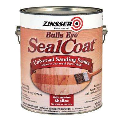 1 gal. SealCoat Clear Matte Sanding Interior Sealer (Case of 2)