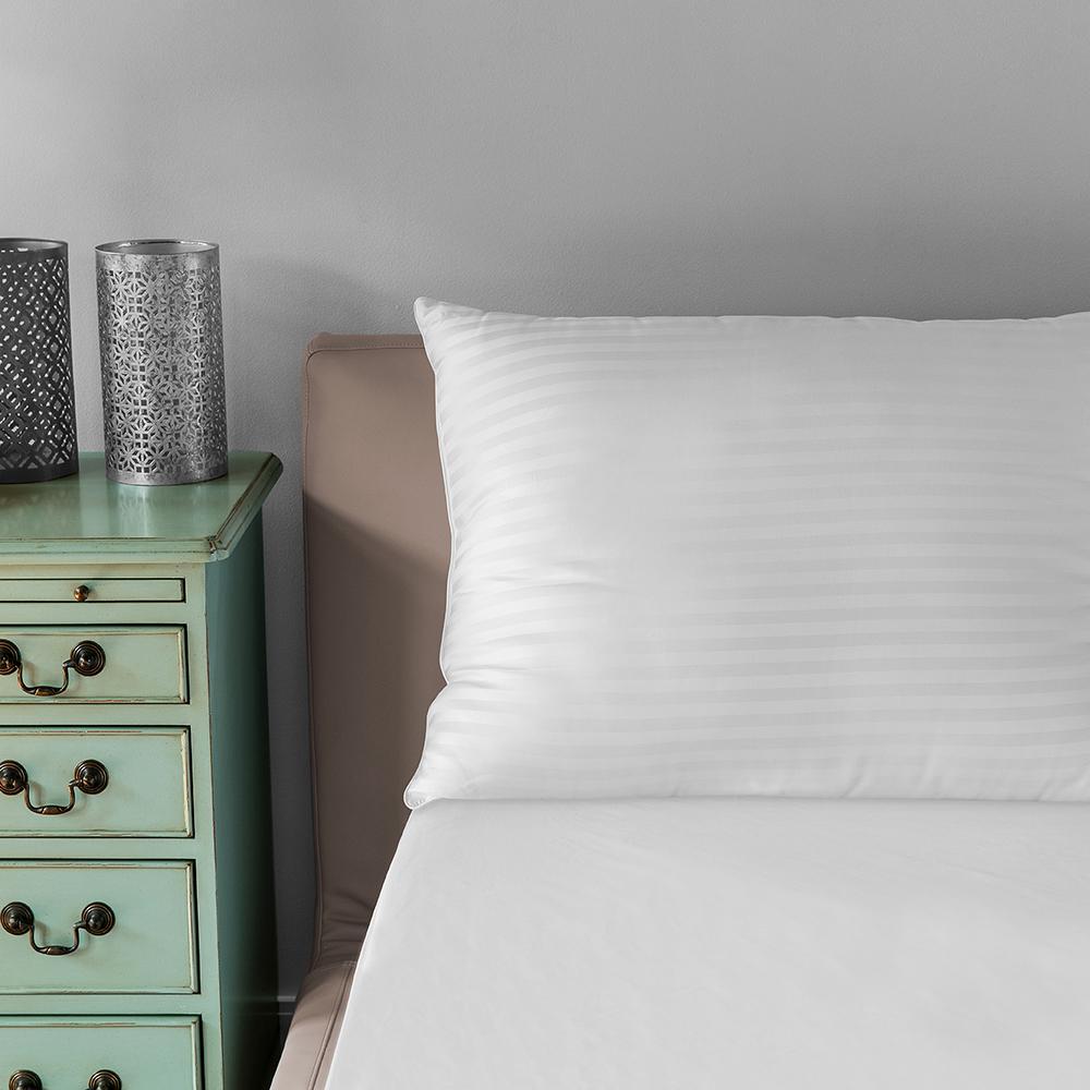 500 Thread Count Tencel Fiber Jumbo Bed Pillow (2-Pack)
