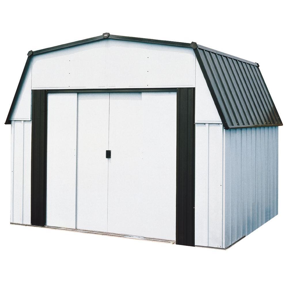 Arrow Estator 10 ft. x 9 ft. Storage Shed-DISCONTINUED