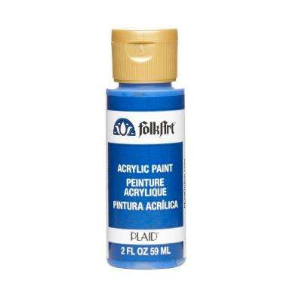 2 oz. Cobalt Blue Acrylic Craft Paint