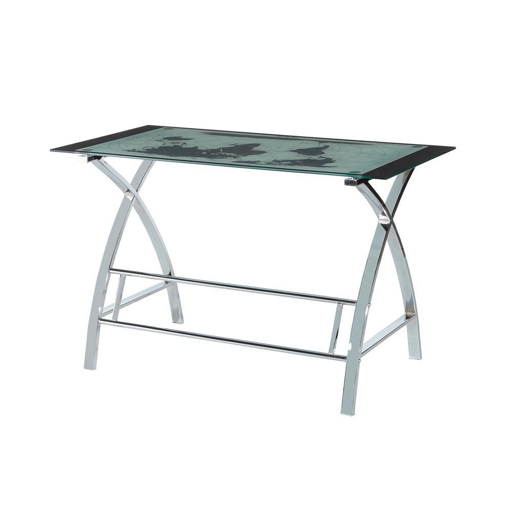 Leon White Desk Set