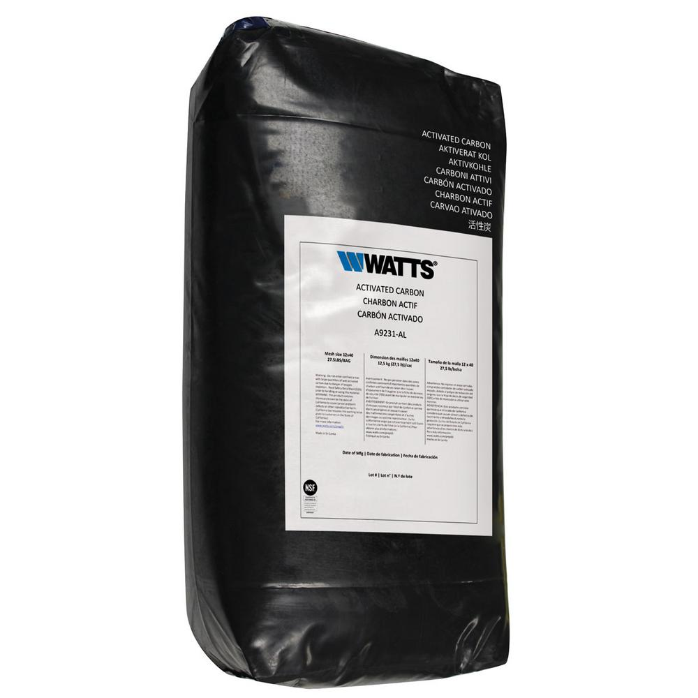 Watts 1 cu. ft. Granular Activated Carbon Media For Whole House Water Conditioning System