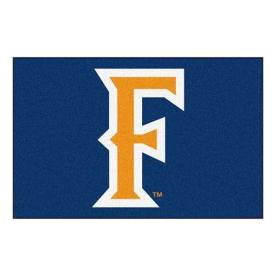 NCAA California State Fullerton Blue 2 ft. x 3 ft. Area Rug