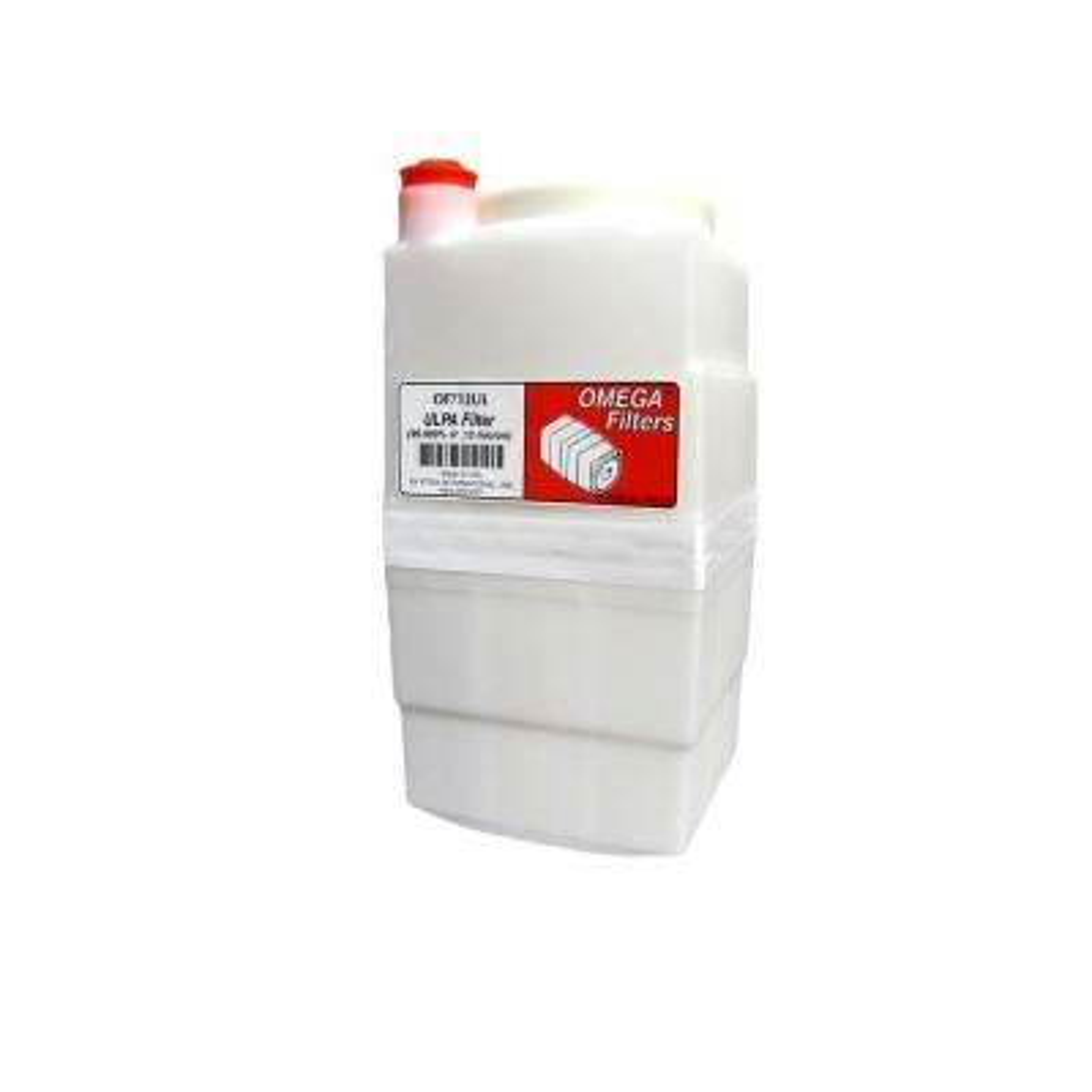 Omega ULPA Filter in White